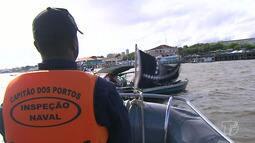 Marinha intensifica fiscalizações a embarcações para garantir o uso de coletes salva vidas