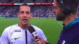Rodriguinho valoriza elenco do Corinthians e fala sobre duelo com São Paulo