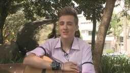 Jovem de 15 anos representa SC no 'The Voice Kids'