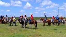 Moradores de Angicos fazem cavalgada em homenagem a São José