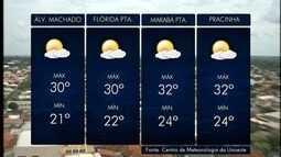 Meteorologia prevê tempo instável com possibilidade de chuva