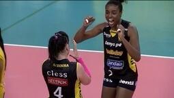Confira um resumo da campanha do Praia Clube até chegar a decisão da Superliga feminina