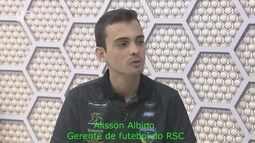Gerente de futebol do Rondoniense, Álisson Albino, conta como iniciou trajetória