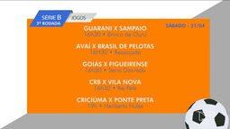 Confira a tabela de jogos da Série B do Campeonato Brasileiro
