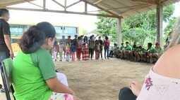 Aldeia do Vale do Ribeira ensina cultura e costumes à visitantes