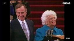 Estados Unidos dão adeus a ex-primeira dama Barbara Bush