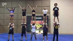 Cheerleaders no Brasil? Sim, só no Arnold Sports Festival