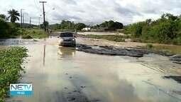 Chuva provoca transtornos em Jaboatão dos Guararapes