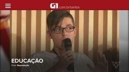 G1 em 1 Minuto: Estudante discute 'nova' educação em evento no Rio de Janeiro
