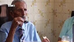 Especial centenários: em Uberlândia, Seo Jovelino fala sobre alimentação e esporte