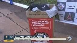 PM promove ações da 'Campanha do Agasalho ' nos bairros de Ribeirão Preto