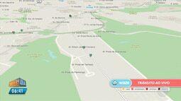 Mapa da Velocidade: instalação de passarela muda o trânsito na região de Stella Maris