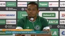 Goiás apresenta o jogador Ernandes