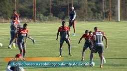 Vila Nova viaja para enfrentar o Coritiba, no Paraná