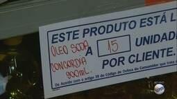 Supermercados limitam venda de produtos aos clientes da região de Ribeirão Preto