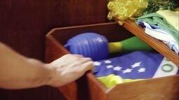 Globo na Copa: pegue sua bandeira verde e amarela
