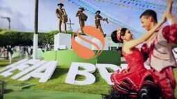 TV Sergipe homenageia Areia Branca em vinheta interprogramas junina