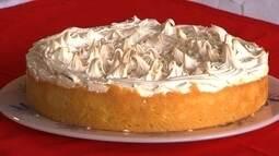 Aprenda a fazer uma irresistível torta de limão