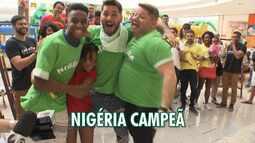 'Gincana Junina': seleção da Nigéria é a grande campeã de 2018