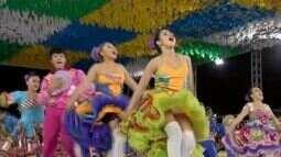 Dezenas de quadrilhas juninas iniciam os festejos em todo o Ceará