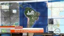 Satélite vai auxiliar na prevenção a desastres naturais