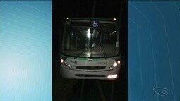 Grupo leva susto após ônibus perder freio e parar na Curva da Morte, no Sul do ES