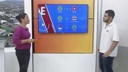 Repórter do GE/RR faz projeção de Brasil x Costa Rica, pela Copa do Mundo