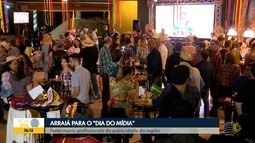 TV Fronteira comemora Dia do Mídia com festa junina