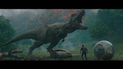 'Jurassic World: reino ameaçado' é o quarto filme da franquia