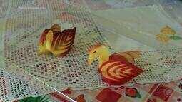 Arte em frutas se torna pedida para decorar mesa e deixar os alimentos mais atrativos
