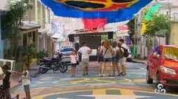 Em Manaus, rua terá telão para exibir final da Copa do Mundo