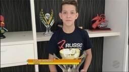 Rolou a grande final do Brasileiro de Kart etapa São Paulo e teve Mato-grossense no pódio