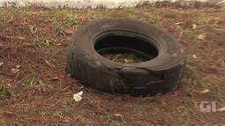 Caminhão perde pneu e causa acidente no Lago Sul, no DF