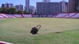 Náutico abre os Aflitos para mostrar novidades nas obras do estádio