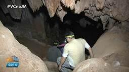 Pesquisadores avaliam obras de rodovia em área de cavernas na região de São Desidério