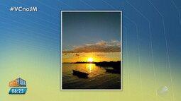 Confira a previsão do tempo desta sexta-feira (20); veja também as fotos do amanhecer