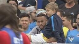 Neymar Jr's Five recebe equipes de vários países em Praia Grande