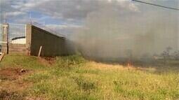Uberaba caminha para ser, novamente, líder no número de ocorrências de incêndios em MG