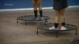 Popular, 'jump' movimenta o corpo e ajuda no emagrecimento
