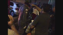 MGTV: telespectador registra atropelamento no Bairro Osvaldo Rezende em Uberlândia