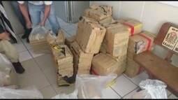 PRF apreende mais de 650 kg de maconha em Cajati