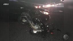 Motociclista morre em acidente na Avenida Roberto Freire em Natal