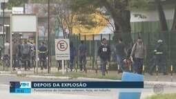 Funcionários da Usiminas voltam ao trabalho após explosão de gasômetro