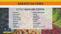 Veja frutas, verduras e legumes com melhor preço nas feiras livres de Ribeirão Preto, SP