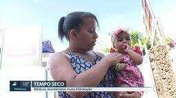 População sofre com o tempo seco em Belo Horizonte