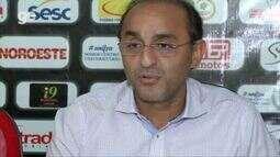 Genivaldo Campelo concede entrevista coletiva após declaração de vice