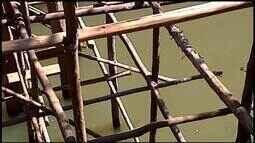 Ponte sobre Rio São João preocupa moradores em Ibiá