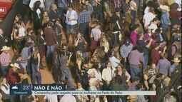 Campanha faz alerta contra assédio a mulheres na Festa do Peão de Barretos