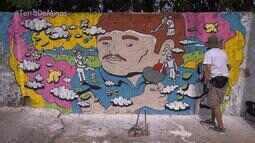 Santa Tereza, em BH, ganha instalações e intervenções artísticas