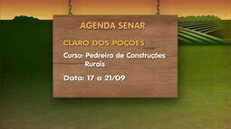 Confira os cursos oferecidos pelo Senar nesta semana